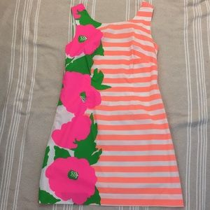 Lilly Pulitzer Neon Striped Dress